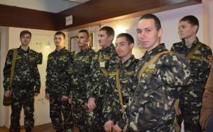 Студенти військової кафедри НУВГП
