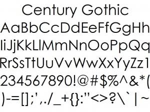 фото_3_Century Gothic