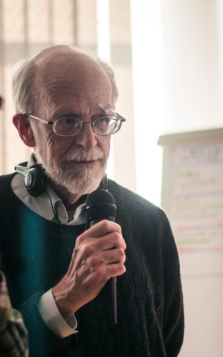 Джон Перкінс розповідає про ситуацію з кліматом та енергетикою в США українським активіст(к)ам