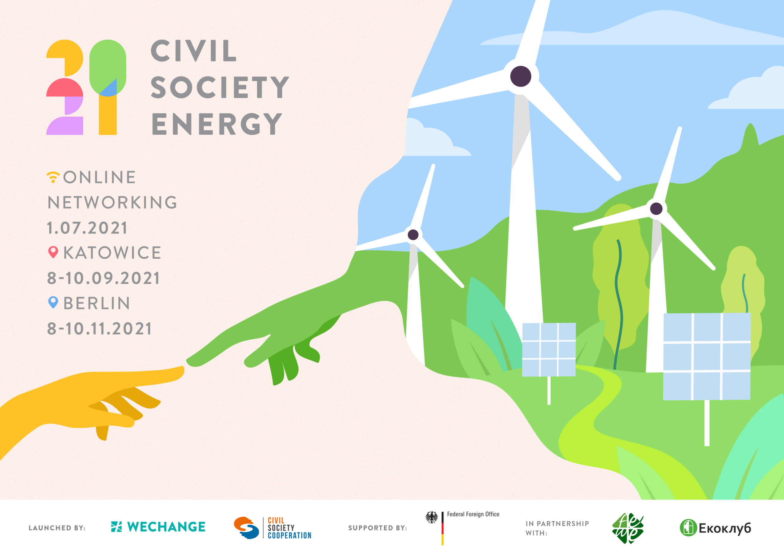"Open Call ""Civil Society Energy 2021"""