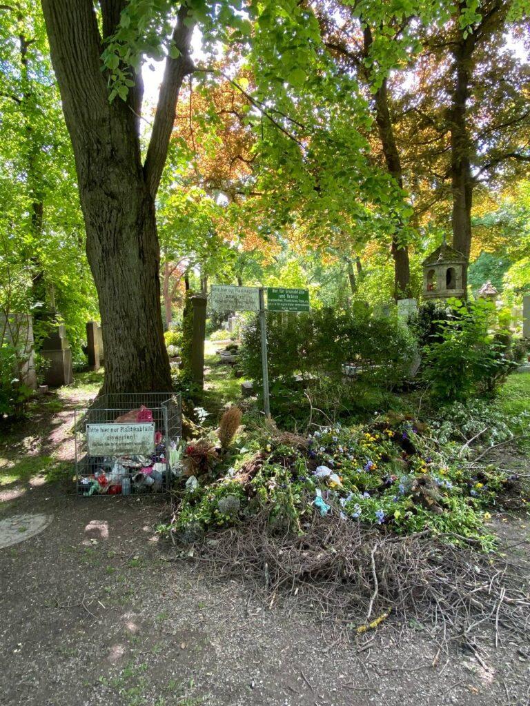 Відходи на німецьких кладовищах - озеленення як захід з адаптації до зміни клімату